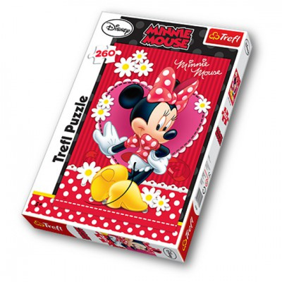 Puzzle Trefl-13139 Lady Minnie Maus