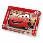 Puzzle  Trefl-14082 Cars: Flash Mc Queen