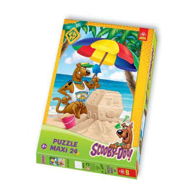 Puzzle Trefl-14115 Große Teile - Scooby-Doo am Strand