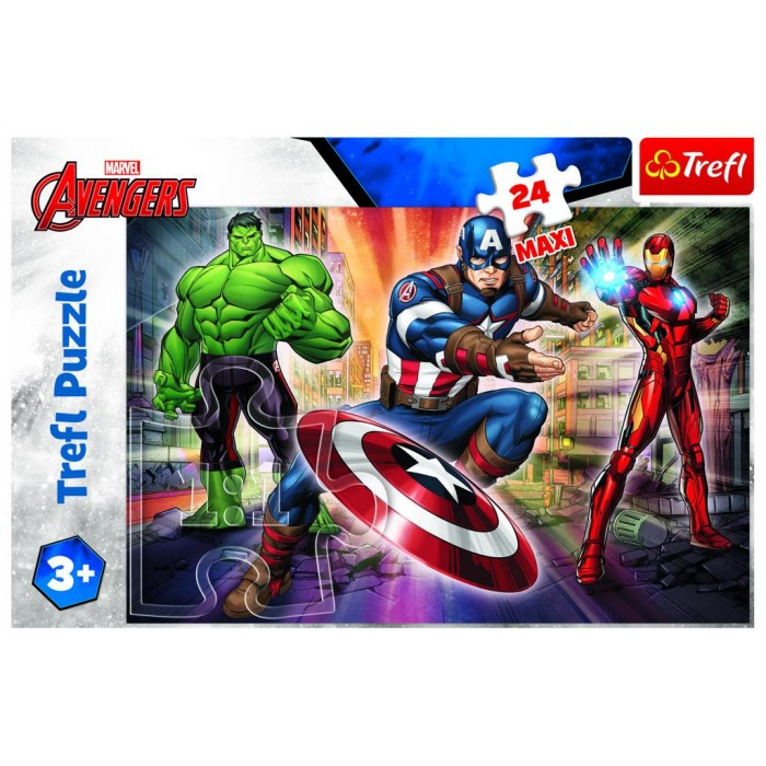 XXL Teile - Disney Marvel The Avengers