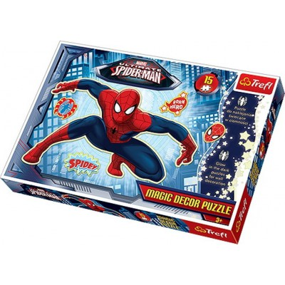 Puzzle Trefl-14600 Spiderman Magic Decor