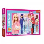 Puzzle  Trefl-16385 Barbie