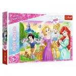 Puzzle  Trefl-16393 Disney Princess