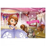 Trefl-16501 2 Lumi Color Puzzles - Sofia the First