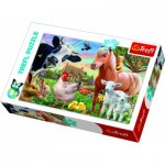 Puzzle  Trefl-17320 A Cheerful Farm