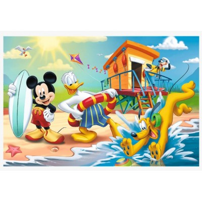 Puzzle Trefl-17359 Interesting day for Mickey and friends