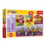 Puzzle  Trefl-18271 Super Zings