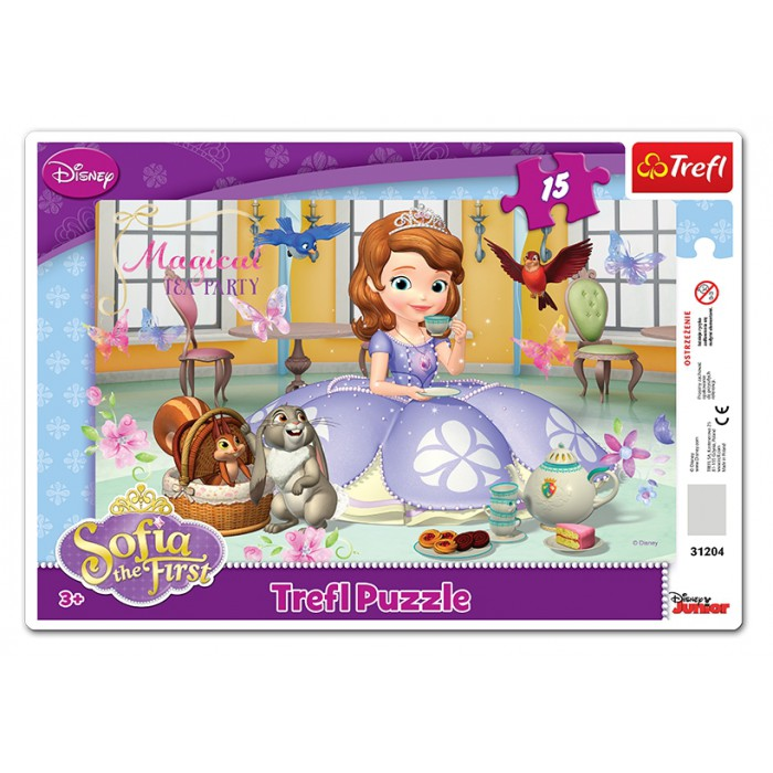 Rahmenpuzzle - Sofia the First