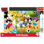 Trefl-31353 Rahmenpuzzle - Mickey Mouse & Friends