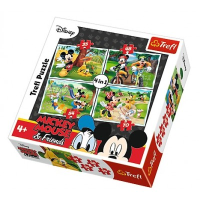 puzzle micky maus