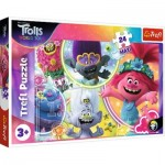 Puzzle   XXL Teile - Dreamworks - Trolls World Tour