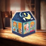 Puzzle   3D House Lantern - Nan Jun - Bear Coffee