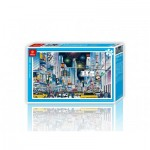 Pintoo-H1592 Puzzle aus Kunststoff - New York City