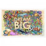 Pintoo-H1671 Puzzle aus Kunststoff - Dream Big