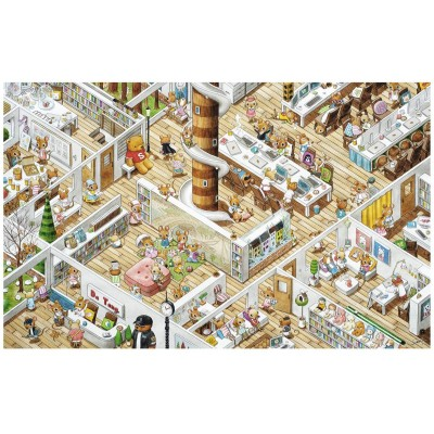 Pintoo-H1775 Puzzle aus Kunststoff - Smart - The Office