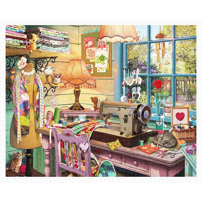 Puzzle aus Kunststoff - Steve Read - Sewing Shed