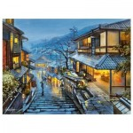 Pintoo-H2001 Puzzle aus Kunststoff - Evgeny Lushpin - Old Kyoto