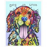 Pintoo-H2045 Puzzle aus Kunststoff - Dean Russo - Dog Is Love