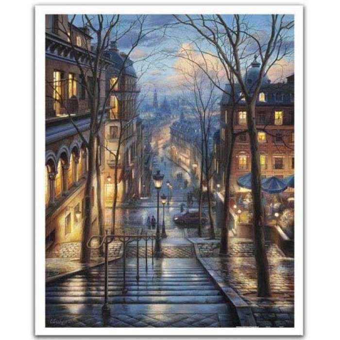 Puzzle aus Kunststoff - Evgeny Lushpin - Montmartre Spring
