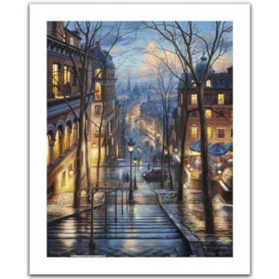 Pintoo-H2059 Puzzle aus Kunststoff - Evgeny Lushpin - Montmartre Spring