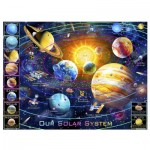 Pintoo-H2133 Puzzle aus Kunststoff - Adrian Chesterman - Solar System