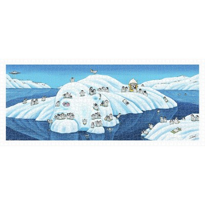 Puzzle Pintoo-H2176 Vacation Penguins