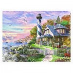 Puzzle  Pintoo-H2254 Dominic Daviso - Sea House