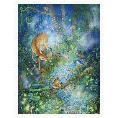 Puzzle Pintoo-H2284 Jungle Find - Forest Bathing