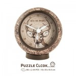 Pintoo-KC1007 3D Puzzle Clock - Into the Woods