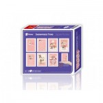Pintoo-M1186 8 Puzzles 40 Teile - Puzzle aus Kunststoff - Showpiece - The Collection of Lovers' Concerto