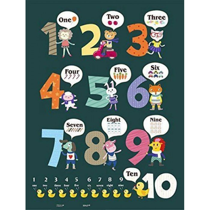 Puzzle aus Kunststoff - Learning To Count