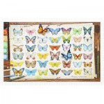 Puzzle aus Kunststoff - Beautiful Butterflies