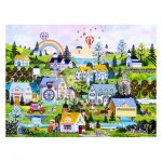 Puzzle aus Kunststoff - Jane Wooster Scott - Somewhere Over the Rainbow