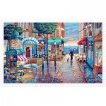 Puzzle aus Kunststoff - John O'Brien - Rainy Day Stroll
