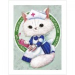 Puzzle aus Kunststoff - Ms. Chiu Chiu the Nurse
