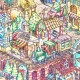 Puzzle aus Kunststoff - Tom Parker - Dino City and Bay