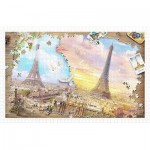Puzzle in Puzzle - The Magnificent Eiffel Tower