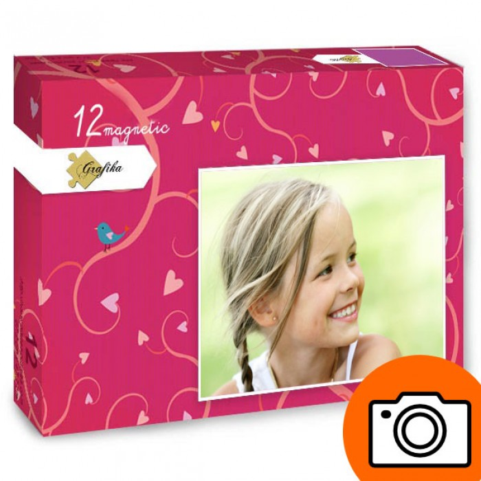 12 Teile Fotopuzzle - XXL Teile - magnetisch