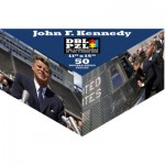 Pigment-and-Hue-DBLJFK-00904 Beidseitiges Puzzle - John F. Kennedy