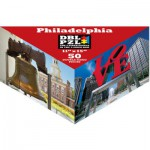 Pigment-and-Hue-DBLPHL-00817 Beidseitiges Puzzle - Philadelphia