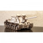 Eco-Wood-Art-07 3D Holzpuzzle - Tank ISU152