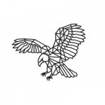 Eco-Wood-Art-84 Wooden Puzzle - Eagle