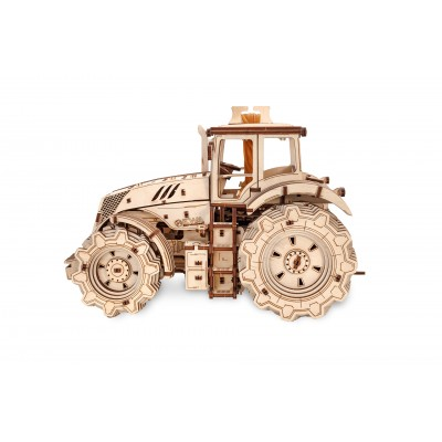 Eco-Wood-Art-89 3D Wooden Puzzle - Tractor