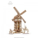 3D Holzpuzzle - Tower Windmill
