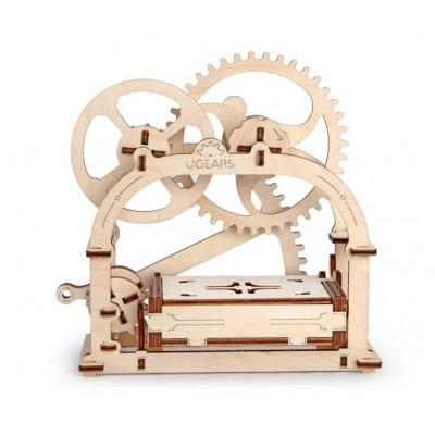 Ugears-12021 3D Holzpuzzle - Mechanical Box
