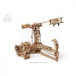 Ugears-12083 3D Holzpuzzle - Aviator mechanical model kit