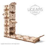 Ugears-12094 3D Holzpuzzle - Modular Dice Tower