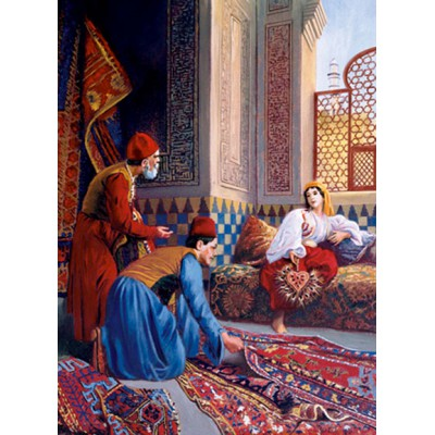 Puzzle Art-Puzzle-4305 Carpet Merchants