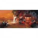 Puzzle  Art-Puzzle-4316 Willem Haenraets: Dinner for Two