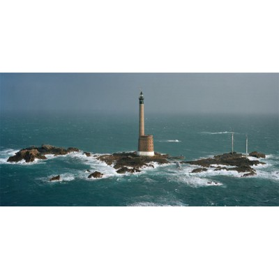 Puzzle Art-Puzzle-4341 Philip Plisson: Les Roches-Douvres Lighthouse